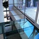 Glass Staircase for Interior Design