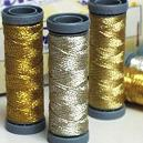 Glossy Metallic Stitching Threads