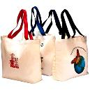 Canvas Bags with Trendy Handle