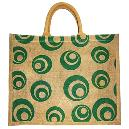 Jute Shopping Cord Cover Handle Bags