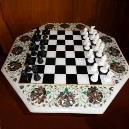 Marble Finished Chess Board