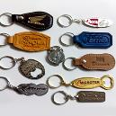 Metal/ Leather Made Key Rings