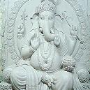 Resin Made Lord Ganesha Sculpture