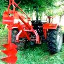 Self Moving Post Hole Digger