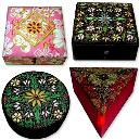 Hand Embroidered Fancy Zari Box