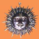 Antiquated Lord Surya Wall Hanging