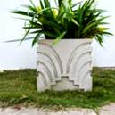 Marble Made Flower Pots