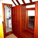 Double Colour Wooden Wardrobe