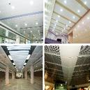 Decorative Suspended Ceiling System With Thermal Insulation