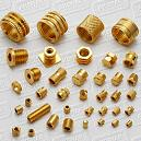 Brass Round Knurled Insert for Plastic Moulding
