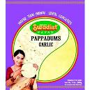Garlic Flavoured Lentil Papad