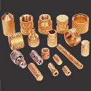 Helical Knurled Brass Inserts