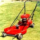 Lawn Mower With 3/4