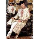 Heavy Embroidered Wedding Sherwani
