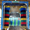 Three-Brush Automatic Bus Wash System