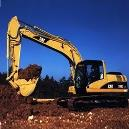 Hydraulically Operated Earth Moving Excavator