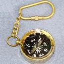 Nautical Compass Key Chain