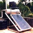 Commercial Purpose Solar Water Geyser
