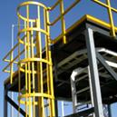 Corrosion Resistant Fibreglass Reinforced Plastic Made Ladder