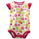 Multicolour Combined Baby Jumpsuits