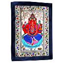Lord Ganesha Embroidered Tapestry