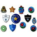 Colourful Printed Plastic Badges