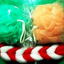 Colourful Loofah For Bathing