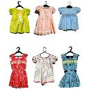 Colourful Cotton Frock For Kids