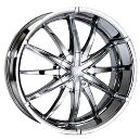 Compact Designed Silver Alloy Wheels