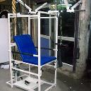 Multiple Exercise Chair With Adjustable Backrest