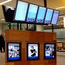 Digital Signage With Animated Graphics And Text
