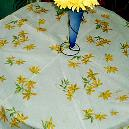Floral Printed Table Cover