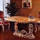 Antique Designed Wooden Dining Table