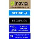 Abrasion Resistant Office Name Plate