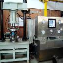 75 Ton Knife Edge Gate Valve Test Bench