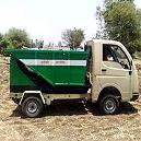 Small Size Garbage Hopping Machine
