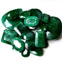 Smooth Polished Emerald Stone