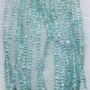 Aquamarine Coloured Faceted Beads