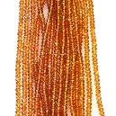 Glossy Finished Citrine Beads