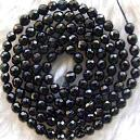 Black Onyx Faceted Bead