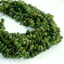 Polished Peridot Stone Bead