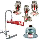 Sprinkler System With Aluminium Head