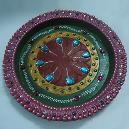 Decorative Clay Made Puja Thali