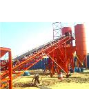 Cement Silo With Belt Conveyor