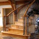 Handcrafted Designer Wooden Staircase