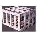 Wooden Slotted Box/ Crate