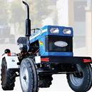 Farm Tractor With Disk Type Foot Brakes