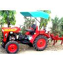 Agricultural Compact Tractor With Cultivator