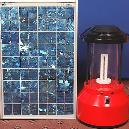 Solar Lantern With Compact Fluorescent Lamp