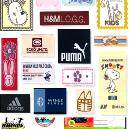 Woven Type Colourful Label